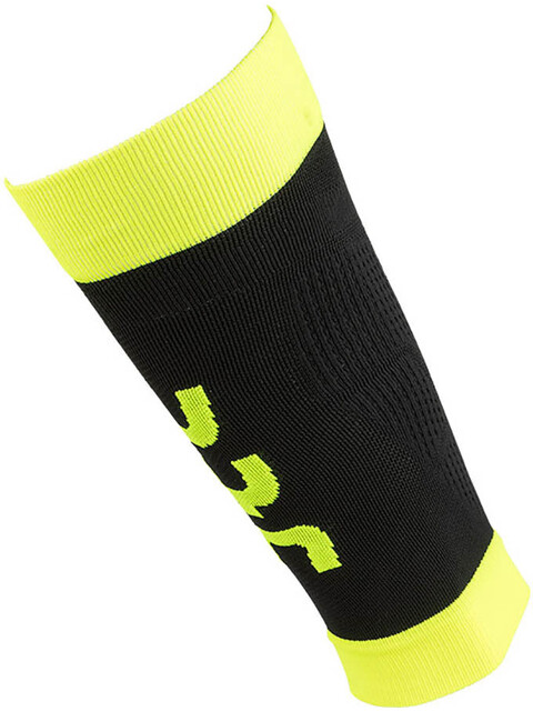 UYN M's Fly Calves Black/Yellow Fluo